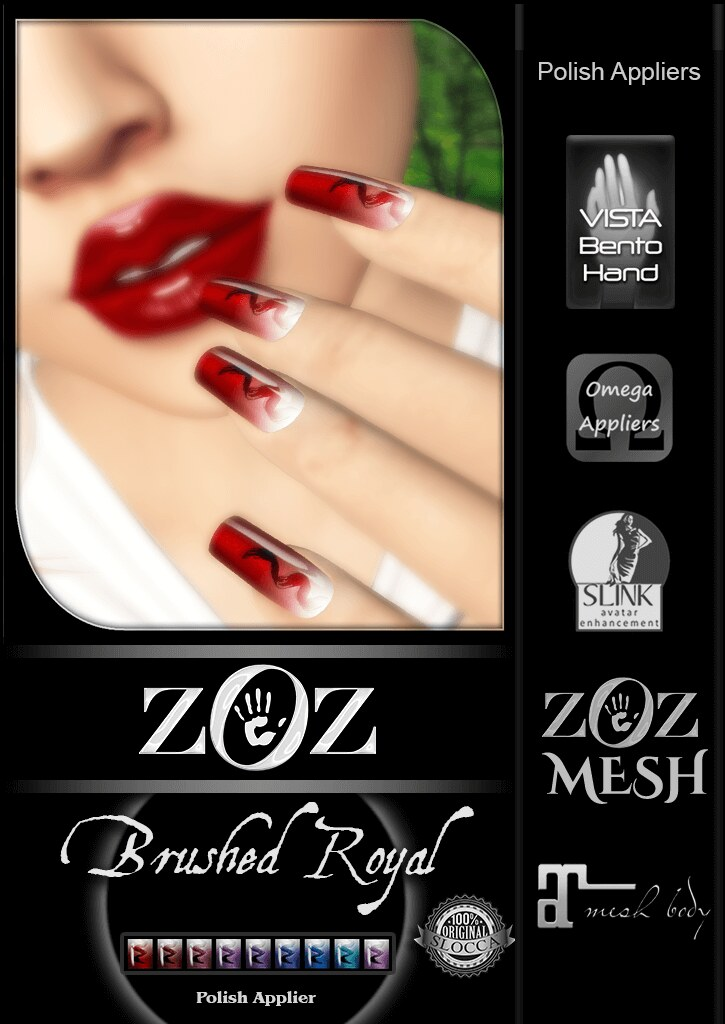 {ZOZ} Brushed Royal pix L