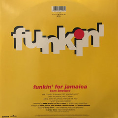 TOM BROWNE:FUNKIN' FOR JAMAICA(1991 REMIX)(JACKET B)
