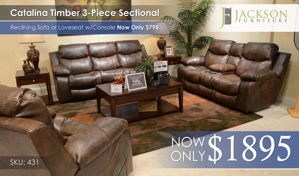 Catalina Timber Sectional 431