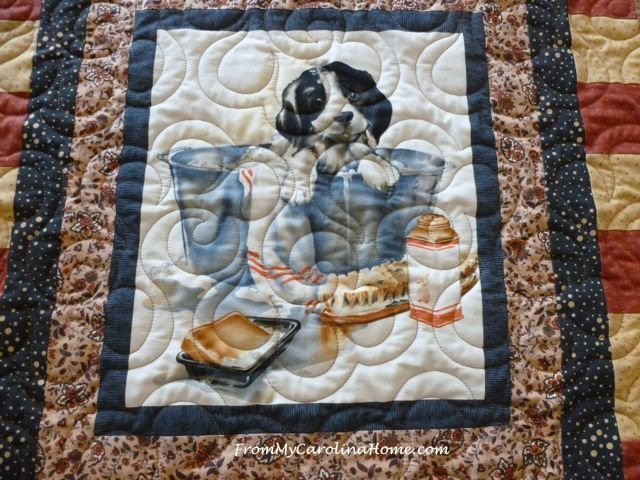 Puppy Quilt ~ From My Carolina Home