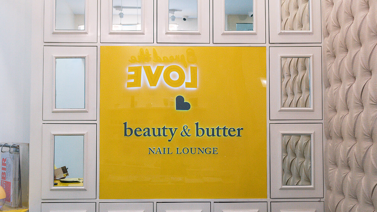 Beauty & Butter Nail Lounge Trinoma