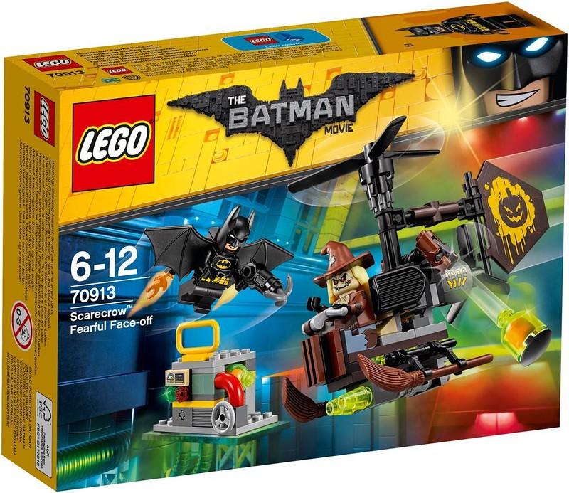 LEGO Batman Movie Set Estate 2017 - Scarecrow Fearful Face-off (70913)