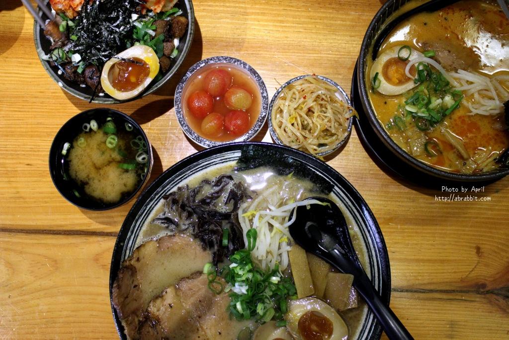 台中美食|台中拉麵|盡心亭–推薦的豚骨拉麵,C/P值高,近中國醫商圈@北區 中國醫