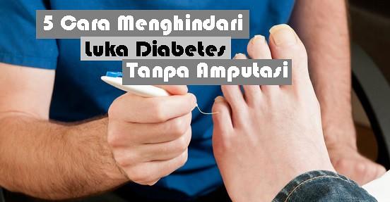 Obat Diabetes Basah Luar Dalam