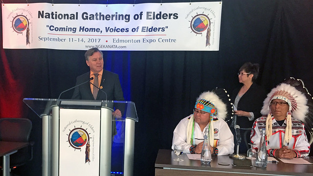 Funding supports gathering of Indigenous Elders