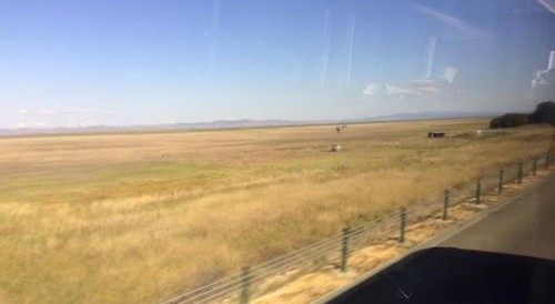 """Lake George on the way to Canberra - A """"lake"""" that is usually dry. From  I caught the bus to Sydney"""