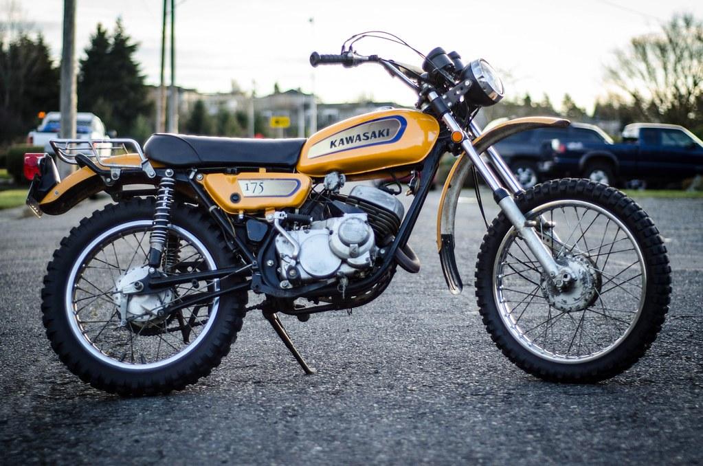 1971 Kawasaki F7 175   Dave Kellman   Flickr