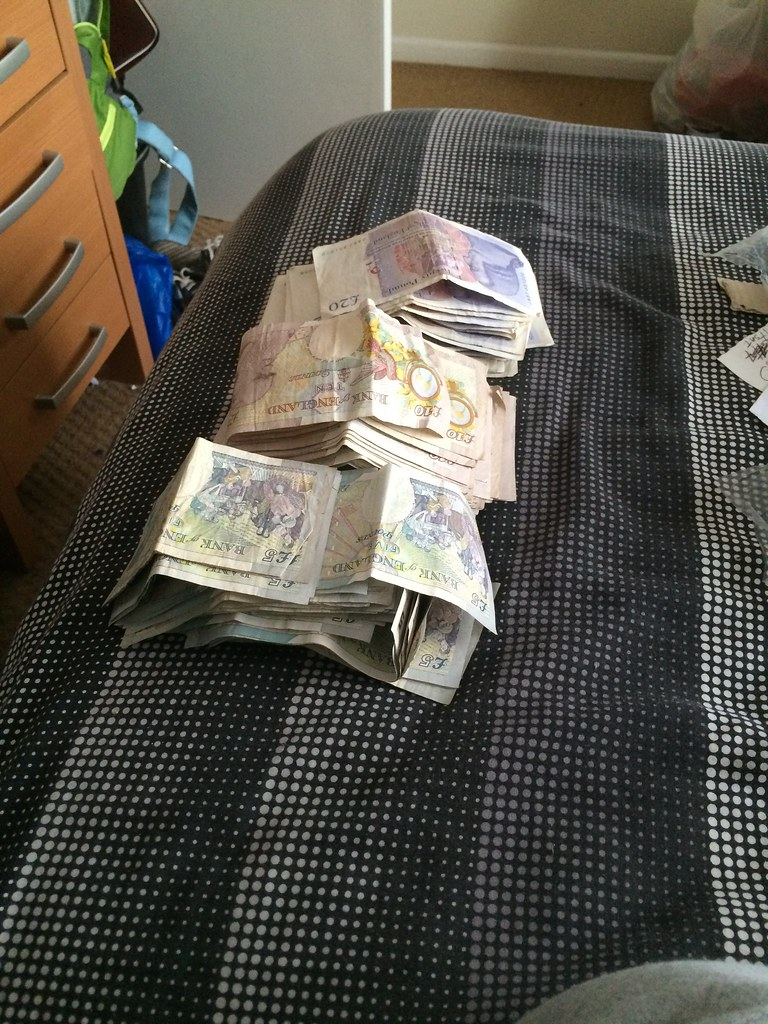 money on bed | hi guys, if you would like to use any picture… | flickr
