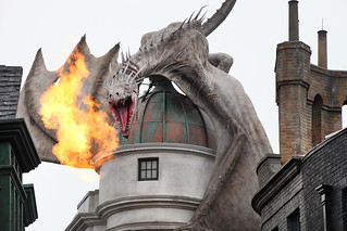Gringott's Bank Dragon | by Sam Howzit