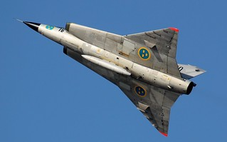 IMG_3734 Swedish Airforce Historic Flight SK 35C Draken 35810 (SE-DXP) | by Pixels in Focus