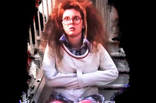 Woman Posey-Straitjacket,Frau In Posey-Zwangsjacke,Psychia