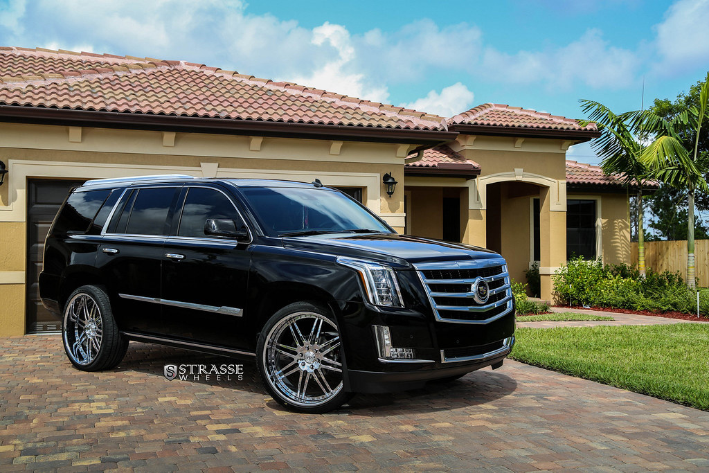 Strasse Wheels 2015 Cadillac Escalade S8 Signature Series Flickr