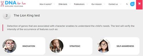 DNAforfun: Descubre el talento infantil con el ADN