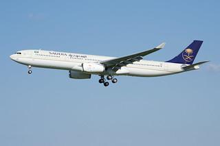 F-WWYC / HZ-AQ24 - Airbus A330-300 - Saudia - msn 1781