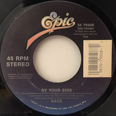 SADE:BY YOUR SIDE(LABEL SIDE-B)