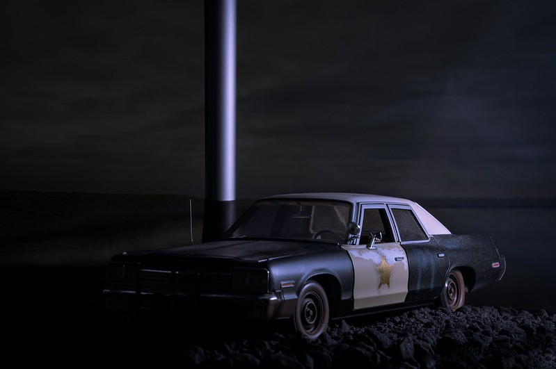 Scene with Dodge Monaco sedan (Comp. 1)