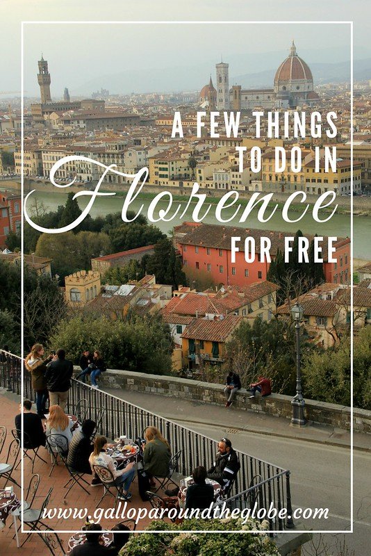 A Few things to see and do in Florence for free