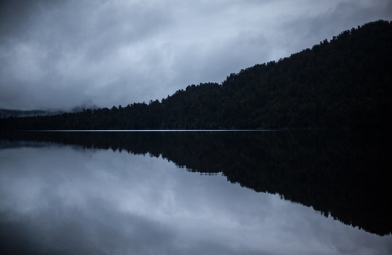 Lake Mapourika, West Coast, New Zealand