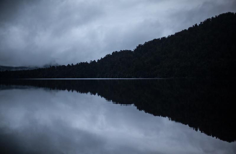 Lake Mapourika, West Coast, New Zealand