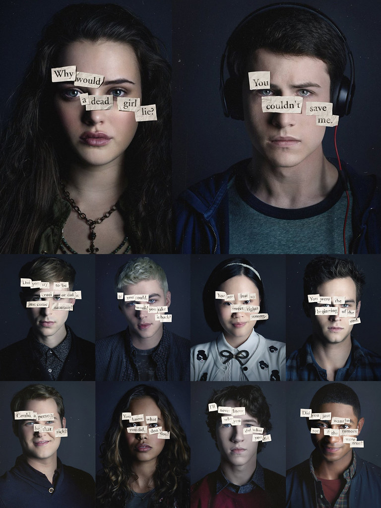 netflix's 13 reasons why series characters