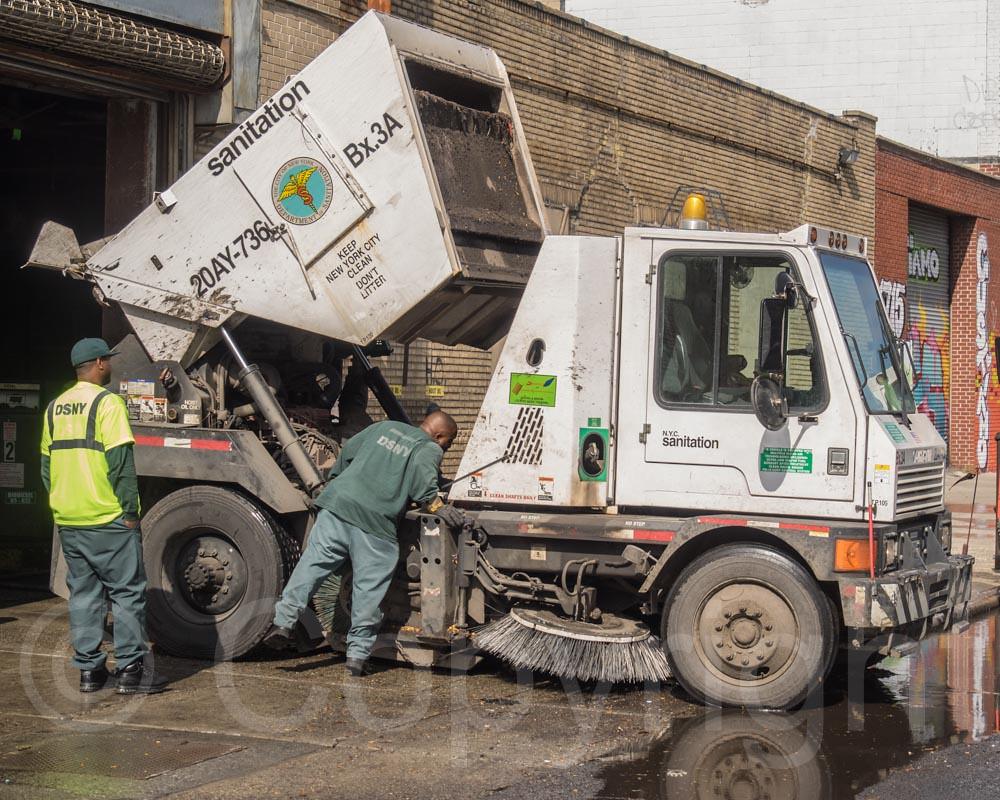 Sanitation Street Sweeper Truck West Bronx New York City Flickr - Nyc street sweeping map