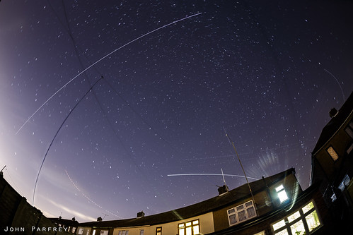 ISS passing over the house | by John Parfrey