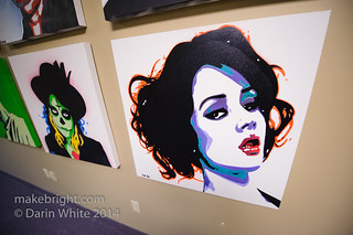 Tri-City Stopgap pop-up art show 205 | by onethingafteranother