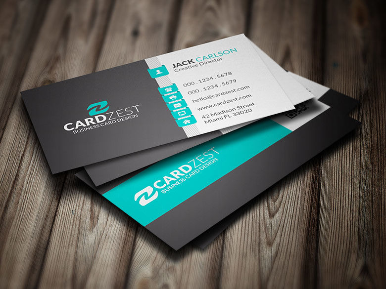 Stylish minty green corporate business card template flickr stylish minty green corporate business card template by meng loong accmission