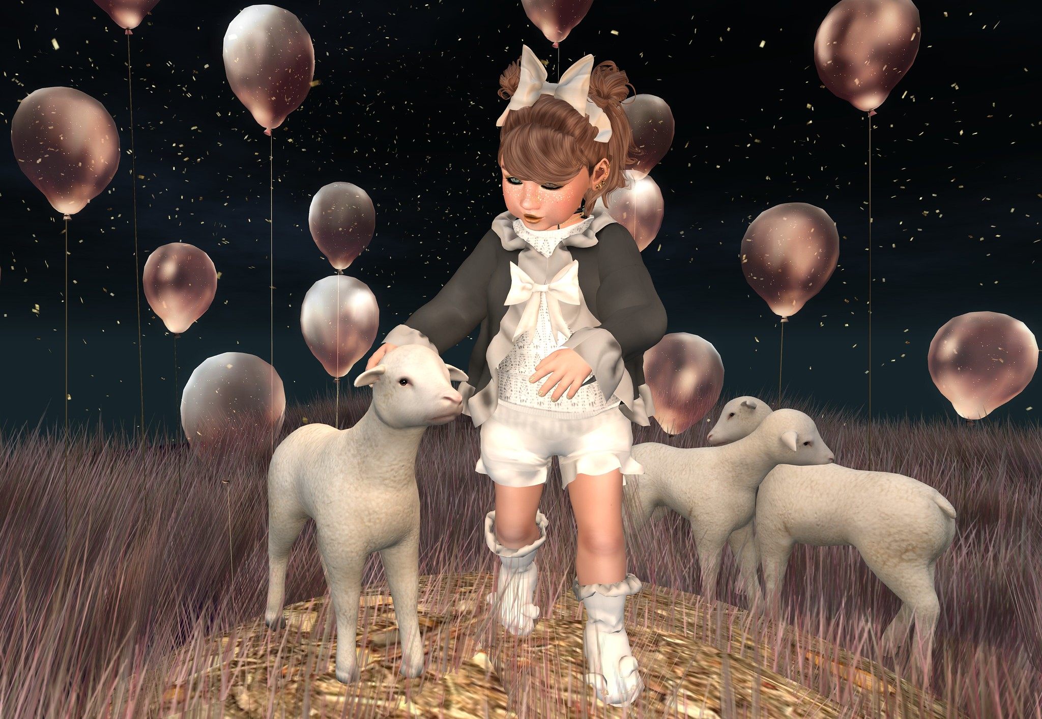 Lamb Outfit Full Set