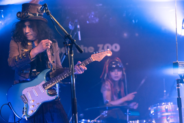 Coal Tar Moon live at Zher the Zoo, Tokyo, 21 Mar 2017 -00052