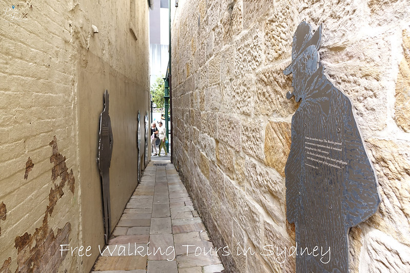 sydney walking tour the rock