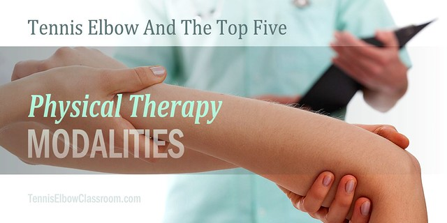 Prevailing Physical Therapy Modalities In Tennis Elbow Treatment