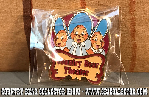 2001 Tokyo Disneyland Country Bear Theatre pin - Country Bear Collector Show #096