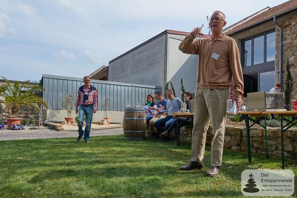 Pascal Bérard: Käse und Wein im Weingut Köth