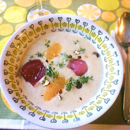 jordärtskocka soppa