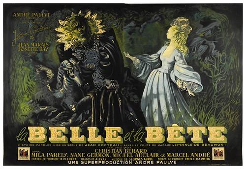 La Belle et La Bête - 1946 - Poster 1