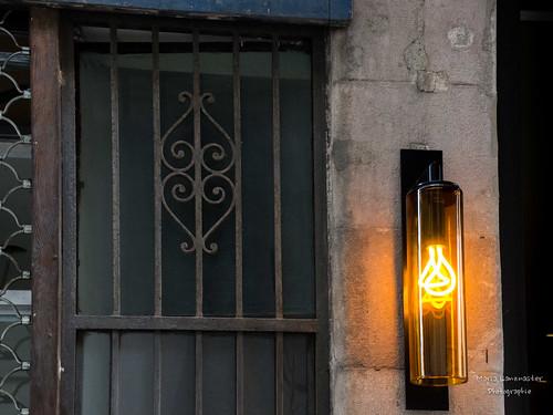 Herz mit Lampe