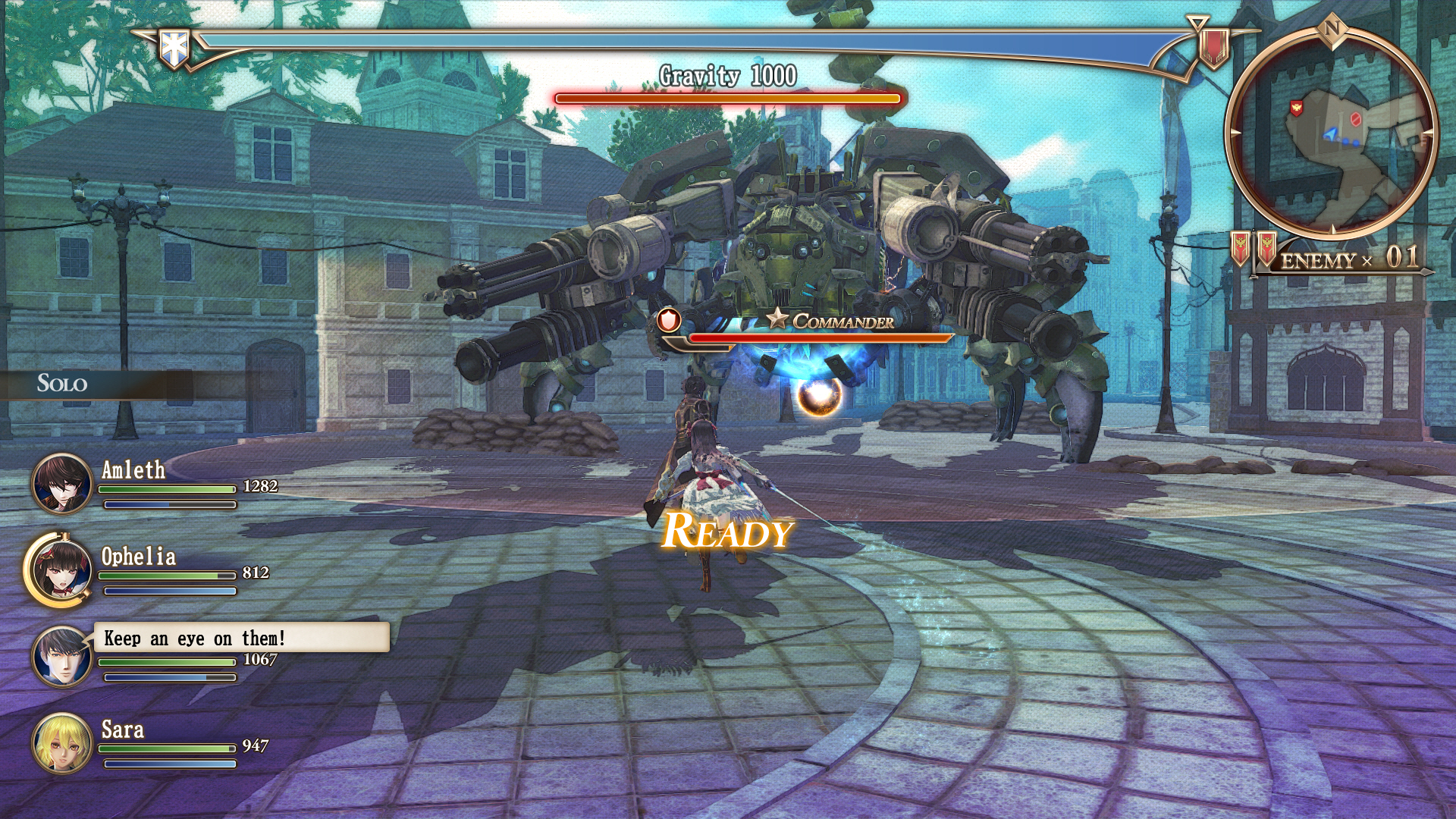 Strategy RPG Valkyria Revolution deploys in Europe on 30th