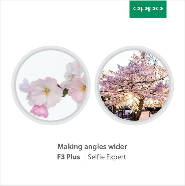 3. OPPO F3 Plus_Dual Selfie Camera
