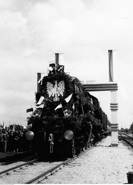 Otwarcie linii kolejowej Zegrze - Radzymin - Zegrze