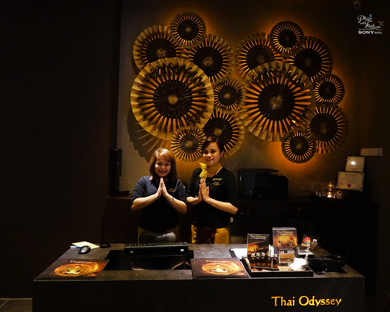 thai odyssey sunway velocity reception