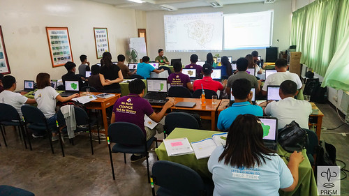 PRISM's Intermediate Training on Geographic Information Systems for Regions I, II, and CAR