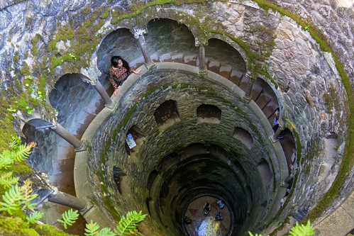 Looking down at the Initiation Well