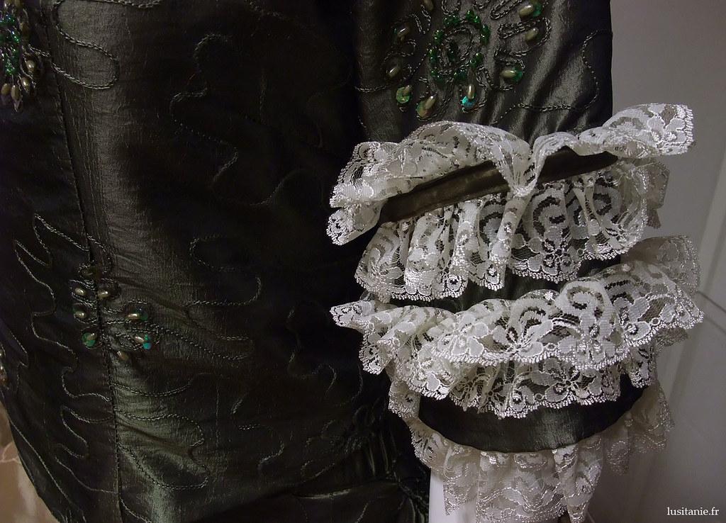 Les robes du XVIIIème étaient très élaborées