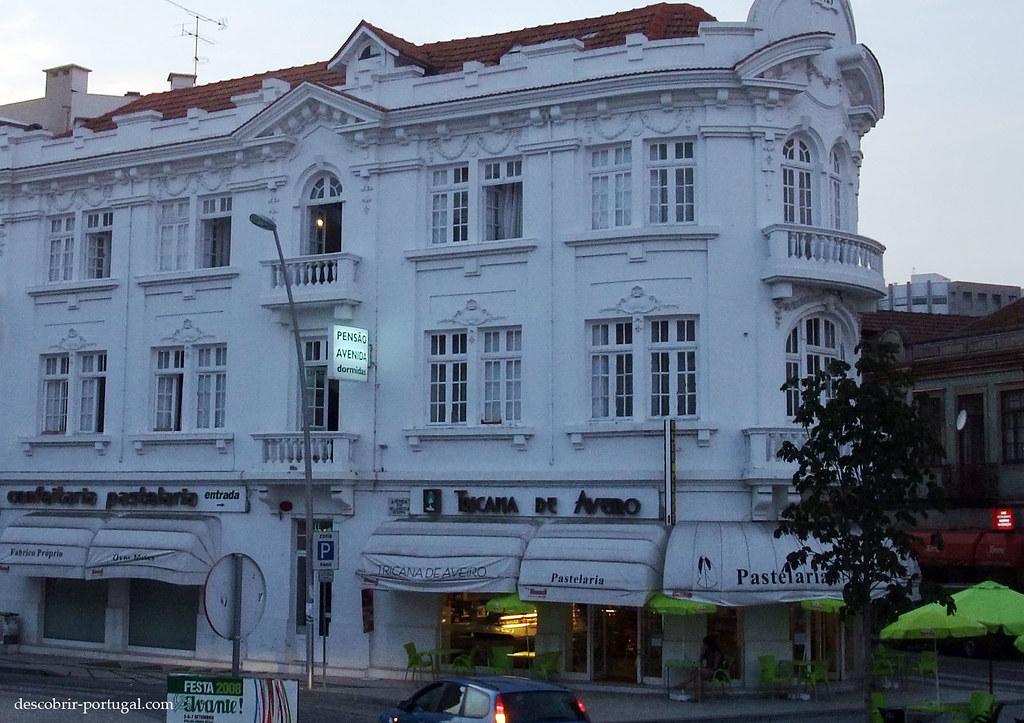 Un immeuble de Aveiro