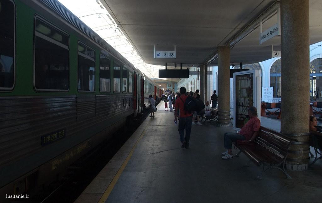 Arrivée en Gare de Santa Apolónia