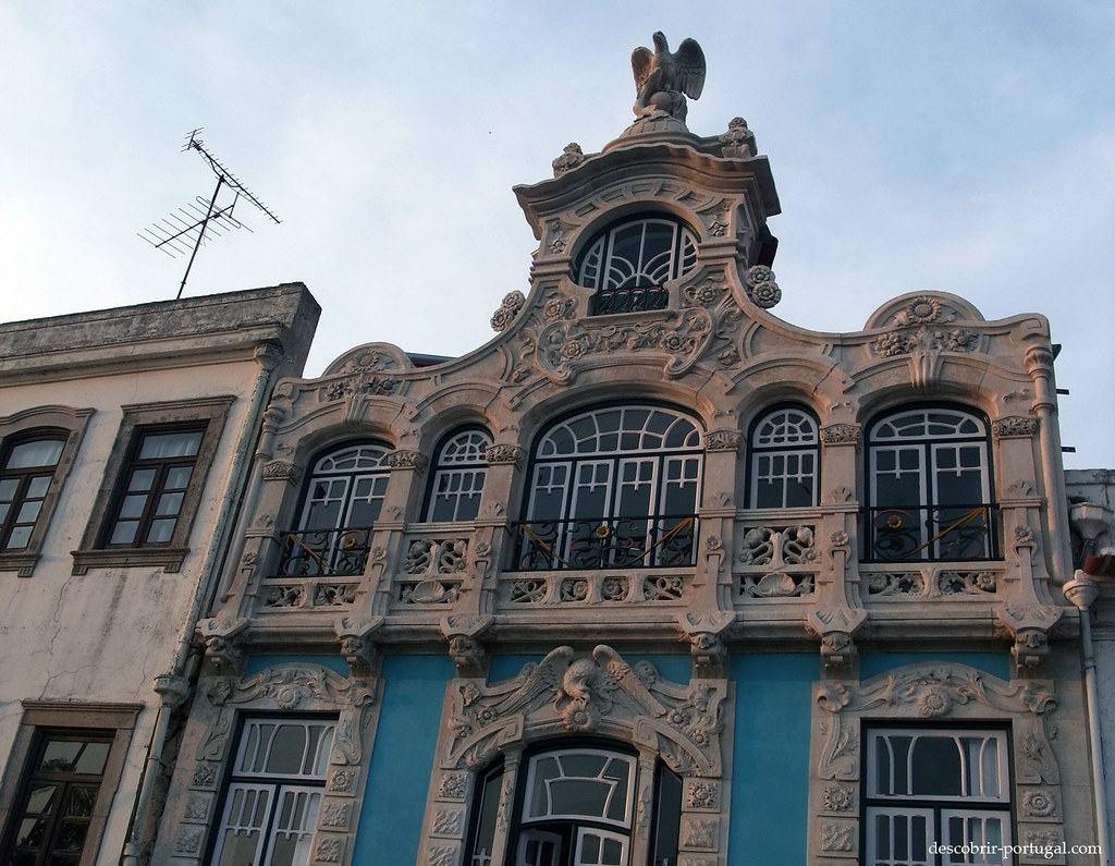 Façade d'immeuble d'Aveiro