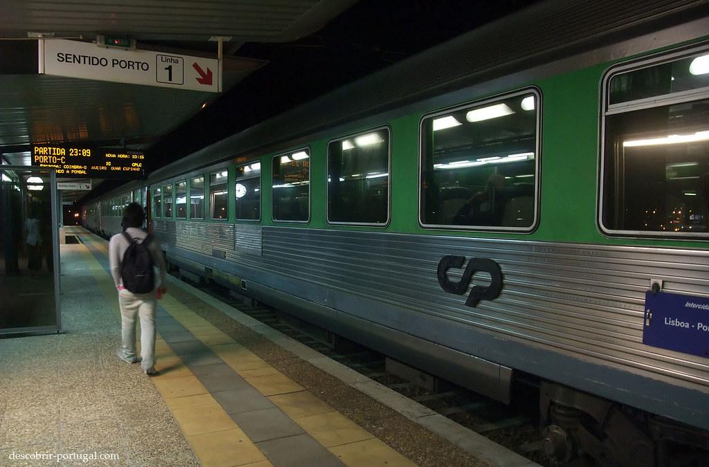 Train pour Porto