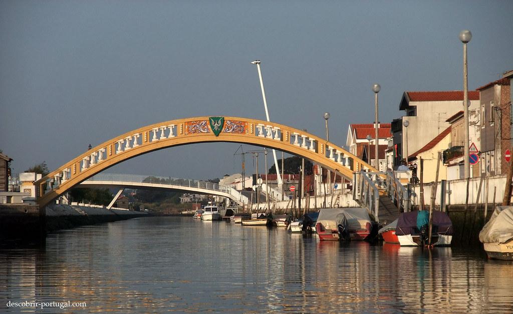 Pont de Carcavelos, sur le canal de São Roque