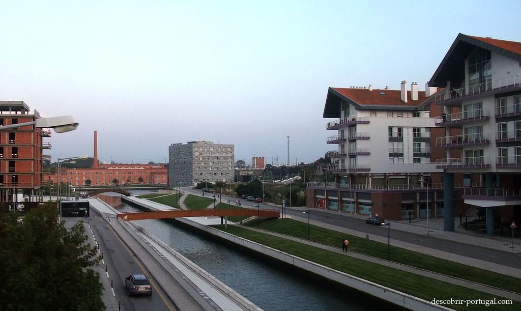 Rues modernes de Aveiro